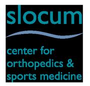 Slocum Center for Orthopedics and Sports Medicine Logo