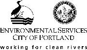 City of Portland, Bureau of Environmental Services Logo
