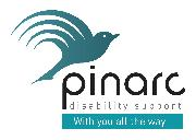 Pinarc Disability Support Logo