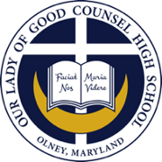 Our Lady of Good Counsel High School Logo