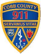 Cobb County 911 Emergency Communications Logo