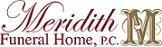 Meridith Funeral Home Logo