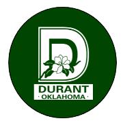CITY OF DURANT Logo