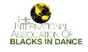 The International Association of Blacks in Dance Logo