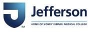 Thomas Jefferson University/Jefferson Health Logo