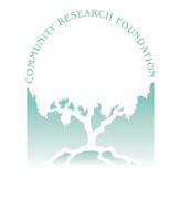 Community Research Foundation Logo