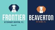 Frontier Veterinary Hospital Logo