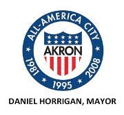 The City of Akron Logo
