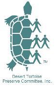 Desert Tortoise Preserve... Logo
