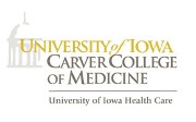 University of Iowa Roy J. & Lucille A. Carver College of Medicine Logo