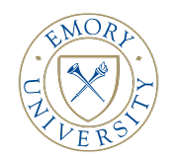 Department of Computer Science at Emory University Logo