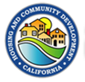 CALIFORNIA DEPARTMENT OF HOUSING AND COMMUNITY DEVELOPMENT Logo