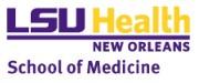 LSU- School of Medicine Logo