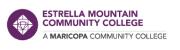 Estrella Mountain Community... Logo