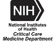 National Institutes of Health - Critical Care Medicine Department, Clinical Epidemiology Section Logo