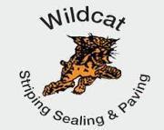 Wildcat Striping & Sealing Logo