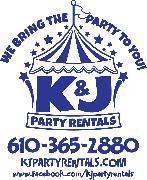 K&J Party Rentals Logo