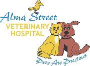 Alma Street Veterinary Hospital Logo