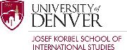 Josef Korbel School of International Studies, University of Denver Logo