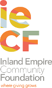 The Inland Empire Community Foundation (IECF) Logo