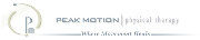 Peak Motion Physical Therapy Logo