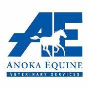 Anoka Equine Vetrinary Services Logo