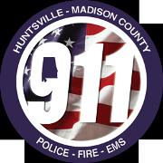 Huntsville-Madison County 9-1-1 Center Logo