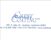 Crest Coatings Logo