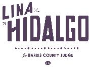 Lina Hidalgo for Harris County Judge Logo