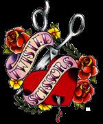 Twisted Scissors Chicago Logo