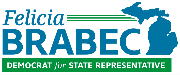 Felicia Brabec for State Representative Logo