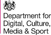 Department for Digital, Culture, Media & Sport Logo