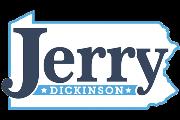 Jerry Dickinson For Congress Logo