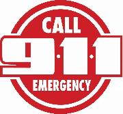 McLennan County 9-1-1 Emergency Assistance District Logo