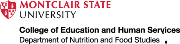 Montclair State University Department of Nutrition and Food Studies Logo