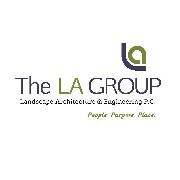 The LA Group Landscape... Logo