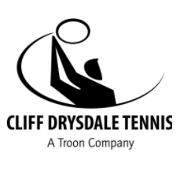 Cliff Drysdale Tennis Logo