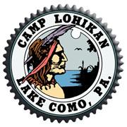 CAMP LOHIKAN in the Pocono Mountains Logo