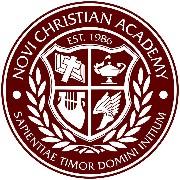 Novi Christian AcademySchool Logo