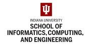 Indiana University - Luddy School of Informatics, Computing, and Engineering Logo