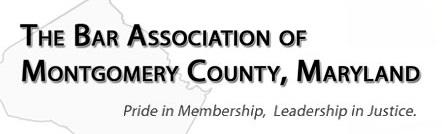 Bar Association of Montgomery County Maryland