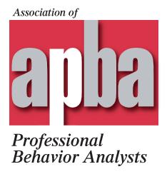 Association of Professional Behavior Analysts