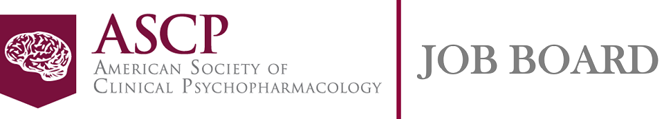 American Society of Clinical Psychopharmacology